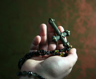 El crucifijo Fotografía de archivo