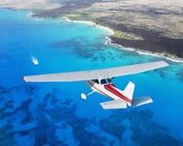 El cruzar de Cessna Foto de archivo