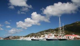El cruzar del Caribe foto de archivo libre de regalías