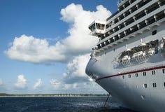 El cruzar en el Caribe Fotos de archivo