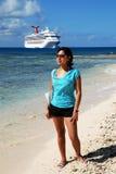 El cruzar en Cayman Islands Fotos de archivo libres de regalías