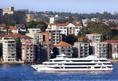El cruzar en Sydney Imagenes de archivo
