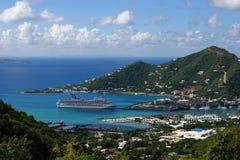El cruzar en Tortola Foto de archivo libre de regalías