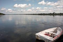 El cruzar en transbordador Imagen de archivo libre de regalías