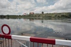 El cruzar en transbordador Fotografía de archivo