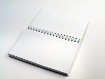 El cuaderno del tirón abre 1 Imagen de archivo libre de regalías