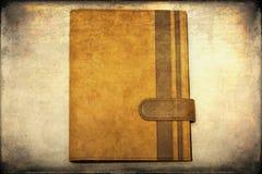 El cuaderno viejo Foto de archivo