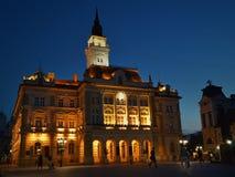 El cuadrado central en Novi Sad Imagen de archivo libre de regalías