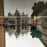 El cuadrado de StMark, plaza San Marco Imagenes de archivo