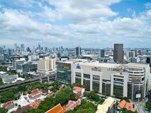 El cuadrado de Tailandia es una de las compras principales de Bangkok Fotos de archivo libres de regalías
