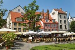 El cuadrado en Riga fotografía de archivo libre de regalías