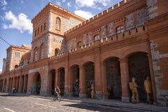 El Cuartel文化中心在伊瓦拉,厄瓜多尔 免版税库存照片