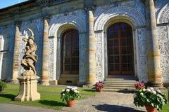 El cuarto de bola es un edificio del renacimiento en los jardines reales del castillo de Praga, República Checa Imagenes de archivo