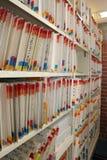 El cuarto de los expedientes Imágenes de archivo libres de regalías