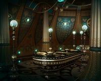 El cuarto del sarcófago, 3d CG Fotografía de archivo