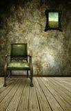 El cuarto verde Imagen de archivo libre de regalías
