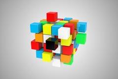 El cubo Imagenes de archivo