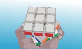 El cubo Imagen de archivo libre de regalías