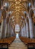 El cubo, abadía de Tewkesbury, Gloucestershire, Inglaterra foto de archivo