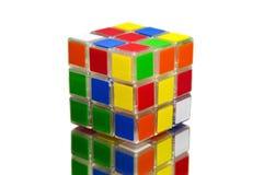 El cubo de Rubik Imágenes de archivo libres de regalías