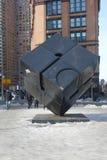 El cubo en Astor Place Imagen de archivo