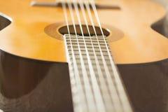 El cuello de la guitarra Imagenes de archivo