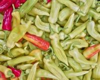 el cuerno dulce sazona el primer con pimienta Fotografía de archivo