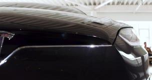 El cuerpo de un coche eléctrico almacen de video