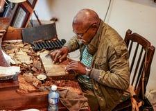 El Cueto rolling Cigar Royalty Free Stock Images