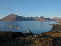 El Cullin, isla de Skye, Escocia Imagenes de archivo