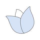 El cultivar un huerto de flor hermoso Imagen de archivo libre de regalías