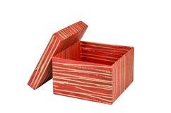 El cumpleaños, caja, celebra, celebración, la Navidad, regalo de la Navidad, regalo, giftbox, aislado Fotografía de archivo libre de regalías