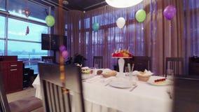 El cumpleaños de los niños del banquete metrajes