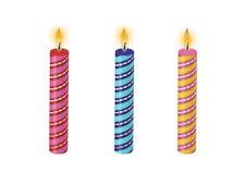 El cumpleaños mira al trasluz vector Imagenes de archivo