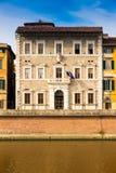 El curato de la universidad de Pisa establece jefatura en Toscana, Italia fotografía de archivo