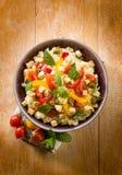Cuscús vegetariano con el queso de soja Fotos de archivo