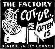 El Cut-Up de la fábrica Fotos de archivo libres de regalías