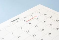 El día de Año Nuevo Fotos de archivo libres de regalías
