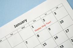 El día de Año Nuevo Foto de archivo libre de regalías