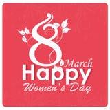 El día de las mujeres Fotografía de archivo libre de regalías