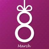 El día de las mujeres, el 8 de marzo Imágenes de archivo libres de regalías