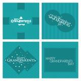 El día de los abuelos Imagen de archivo libre de regalías