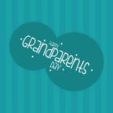 El día de los abuelos Fotografía de archivo libre de regalías