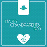 El día de los abuelos Fotos de archivo