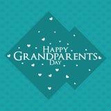 El día de los abuelos Fotografía de archivo