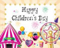 El día de los niños ilustración del vector