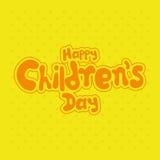 El día de los niños Fotos de archivo libres de regalías