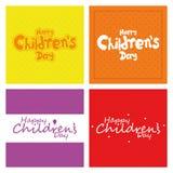 El día de los niños Imagen de archivo