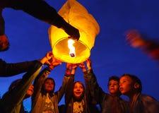 El día de los niños internacionales Fotografía de archivo libre de regalías