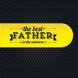 El día de padre Imagen de archivo libre de regalías